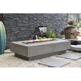 Colfax Concrete Fire Pit Table