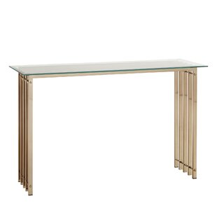 Mervin Console Table By Everly Quinn
