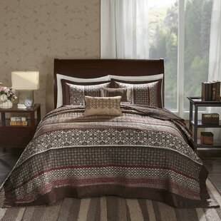 Lakemore 5 Piece Reversible Coverlet Set
