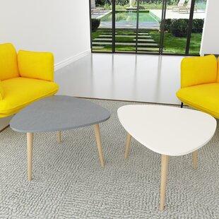 Wanneroo 2 Piece Coffee Table Set (Set of 2)