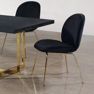 Bhreatnach Upholstered Dining Chair (Set of 2) Orren Ellis