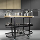 Premier Kitchen Cart Wood by Enclume