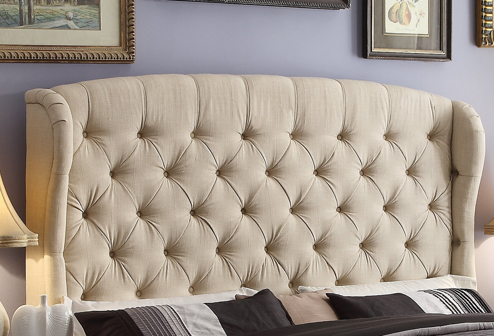 wayfair pdx odina upholstered wingback furniture logan headboard full wade