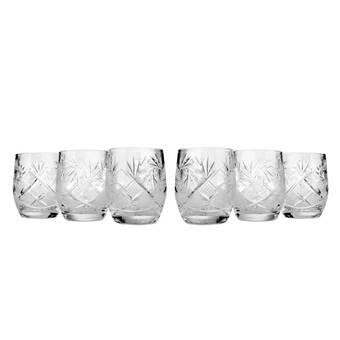 Astoria Grand Eveloe 5 Oz Crystal Drinking Glass Wayfair