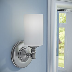 Compare & Buy Hillsboro 1-Light Wall Sconce By Three Posts