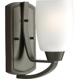Best Choices Charleston 1-Light Armed Sconce By Red Barrel Studio