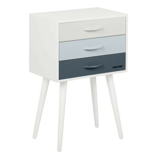 End Table with Storage by Pantone