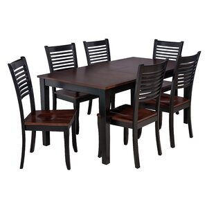 Boswell 7 Piece Dining Set by TTP Furnish