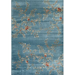 Tiago Blue Indoor/Outdoor Area Rug