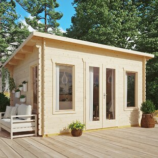 Monroy 14 X 11 Ft. Tongue And Groove Log Cabin Image