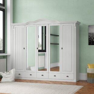 Carrabelle 5 Door Wardrobe By Beachcrest Home