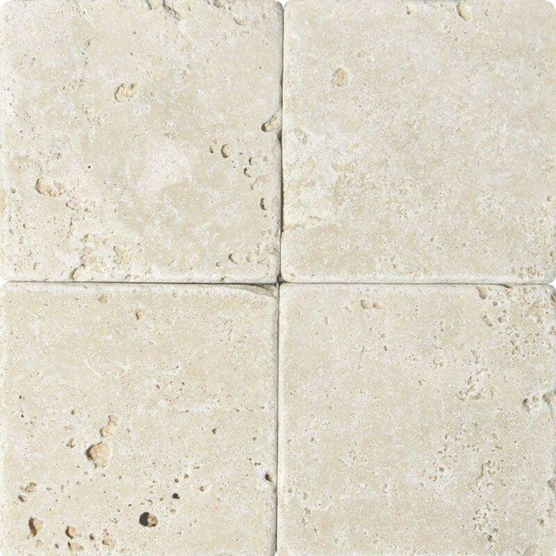 Tile Mosaic Depot 6 X 6 Travertine Marble Look Wall Floor Tile Wayfair