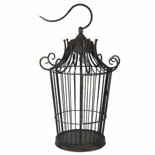 Fleur De Lis Living Ellis Old-World Birdcage 27