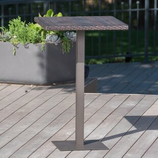 Ivy Bronx Crater Outdoor Bar Table