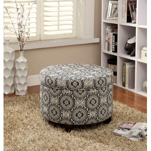 Reilly Fashion Medallion Suzani Storage Ottoman