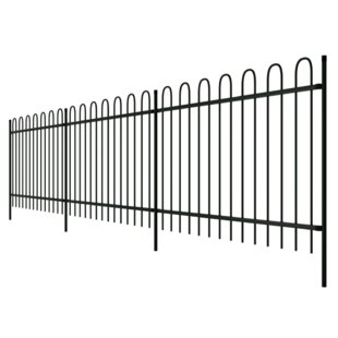 Pale Border Fence by Home Etc