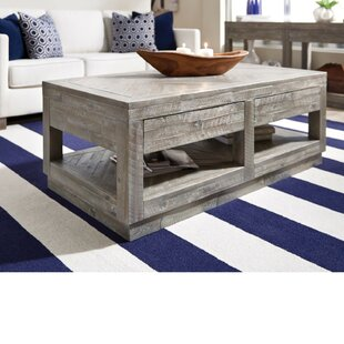 Maryville 2 Drawer and Bottom Shelf Coffee Table with Storage by Brayden Studio