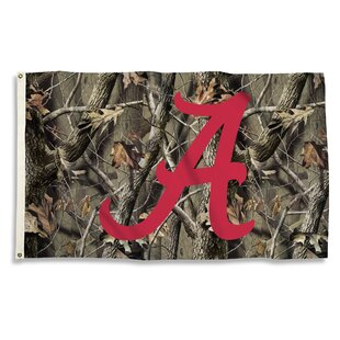 NCAA Realtree Camo Polyester Flag By BSI Products