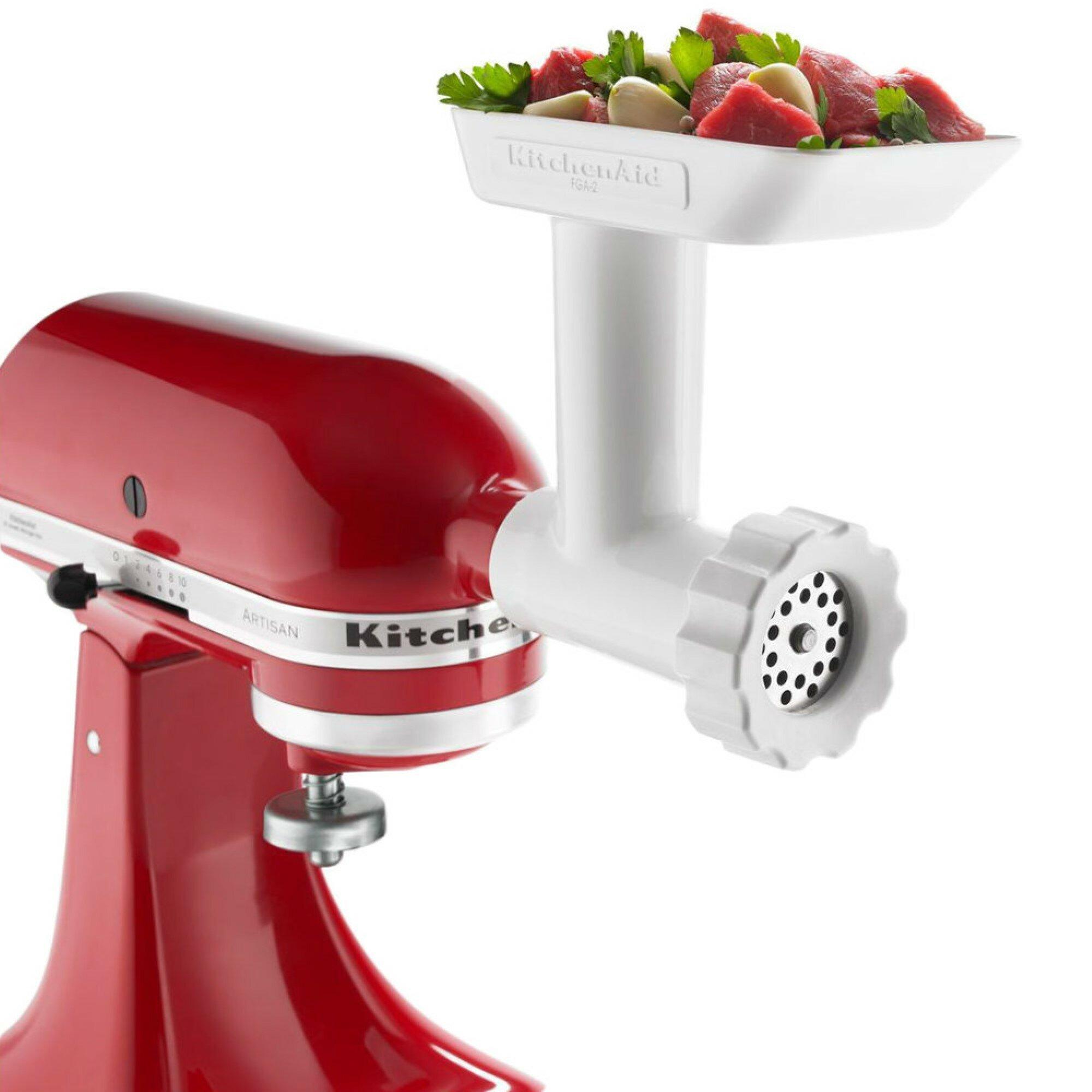 Free Shipping KitchenAid Food Grinder Attachment KSMFGA New