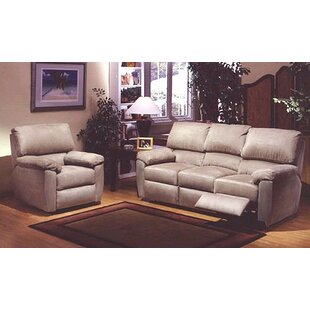 Vercelli Reclining Leather Configurable Living Room Set by Omnia Leather