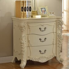 Miller 3 Drawer Nightstand by Rosdorf Park
