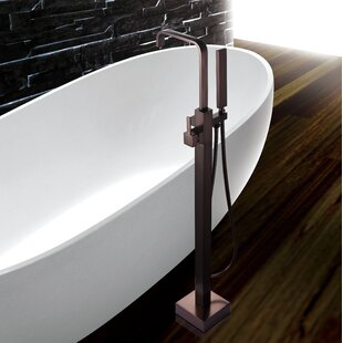 Read Reviews Floor Mounted Tub Only Faucet ByAKDY