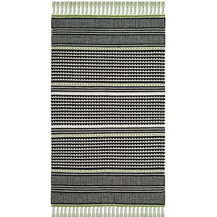 Buy Granada Hand-Woven Green/Gray Area Rug By Wrought Studio
