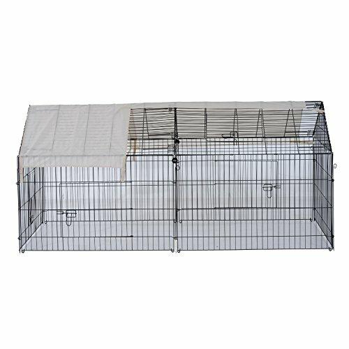 Pawhut Metal Outdoor Animal Enclosure | Wayfair