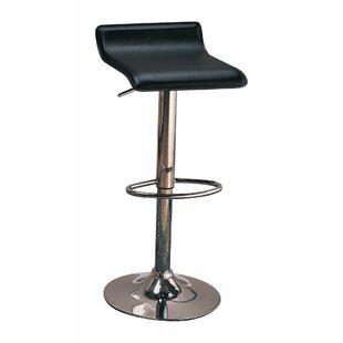 Orren Ellis Woosley Backless Seat Adjustable Height Swivel Bar Stool (Set of 2)