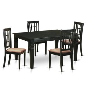 Belcourt 5 Piece Extendable Dining Set DarHome Co