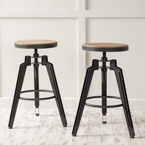 Arda Swivel Bar Stool (Set of 2) by Laurel Foundry Modern Farmhouse