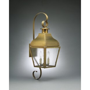 Stanfield 2-Light Outdoor Wall Lantern By Northeast Lantern