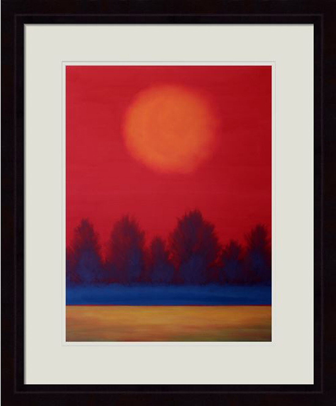 Hadleyhouseco Summer Solstice By Daniel Lager Framed Painting Print Wayfair