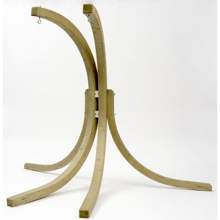 Globo Royal Wooden Hanging Chair Stand By Freeport Park