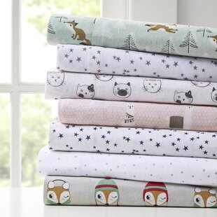 Compare & Buy Academia Cozy Soft Star Print 100% Cotton Sheet Set By Mack & Milo