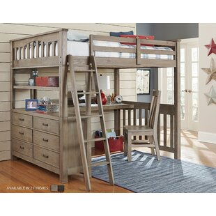 Find Bedlington Loft Bed With Desk by Greyleigh Reviews (2019) & Buyer's Guide