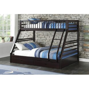 Haslingden Twin XL Over Queen Bunk Bed with Drawers