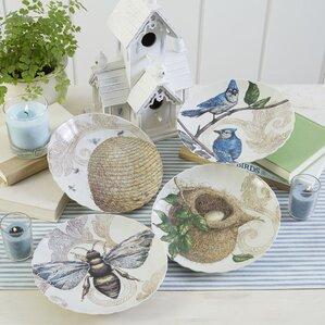 decorative nest u0026 hive plates set of 4