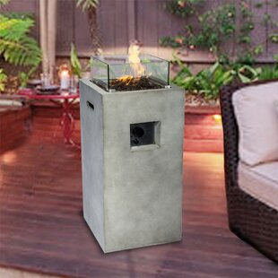 Jonsson Concrete Propane Fire Pit By Sol 72 Outdoor