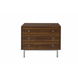 Menzies 3 Drawer Nightstand by Brayden Studio
