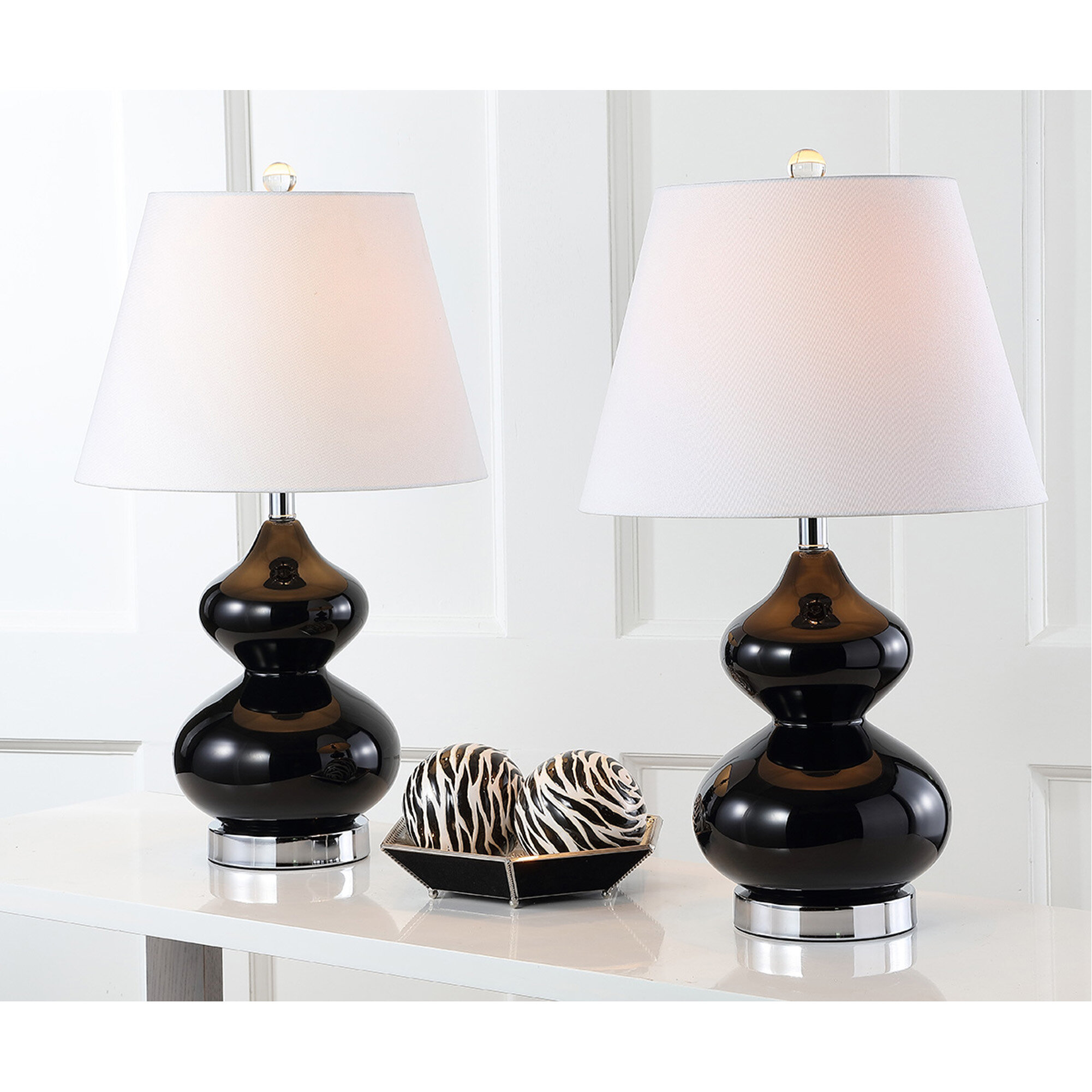 Picture of: Black Table Lamps You Ll Love In 2020 Wayfair