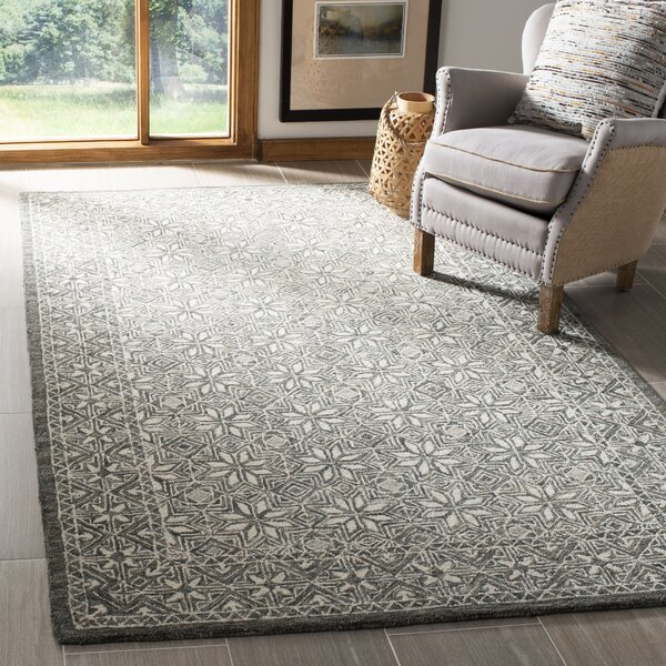 Lylah Hand Tufted Wool Cotton Ivory Area Rug Reviews Joss Main