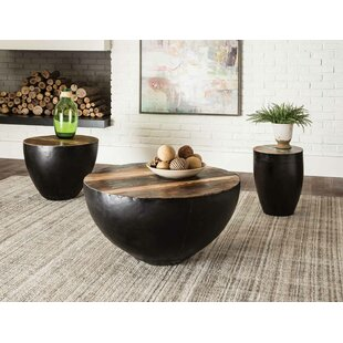 Camila 3 Piece Coffee Table Set