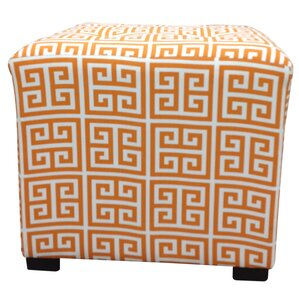 Amelia Chain Tufted Ottoman by Sole Designs