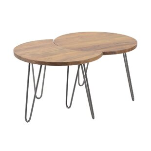 Edge 2-Piece Coffee Table Set By Union Rustic