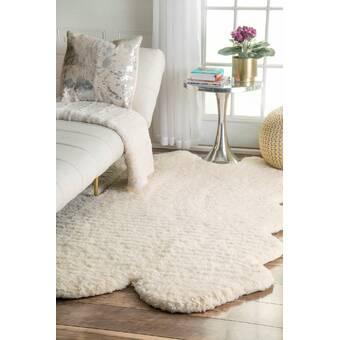 Foundry Select Cuomo White Area Rug Reviews Wayfair