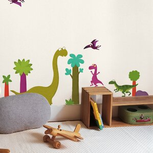 Captivating Dinosaurs Decorative Wall Decal Part 31