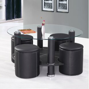 Rutha 5 Piece Coffee Table Set
