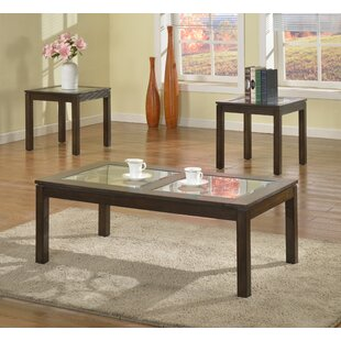 Steadham 3 Piece Coffee Table Set
