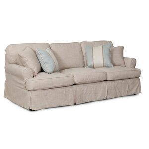 Coral Gables T-Cushion Sofa Slipcover